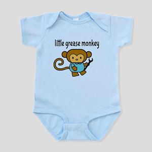 Little Grease Monkey Body Suit