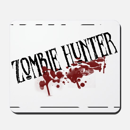 zombiehunter.png Mousepad