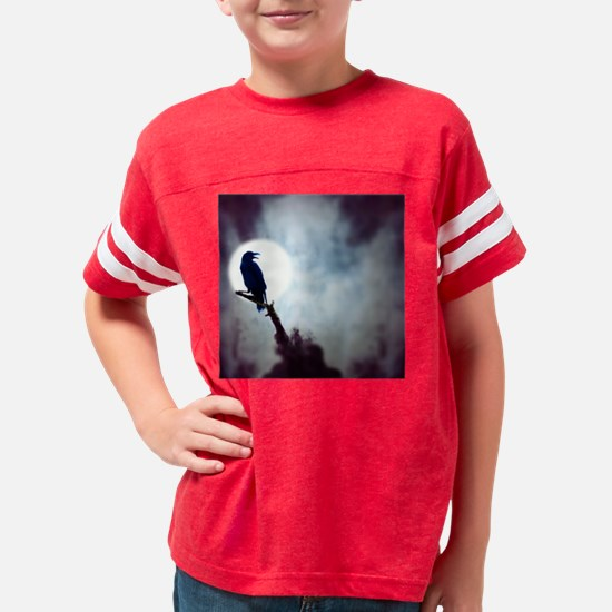 Raven Youth Football Shirt