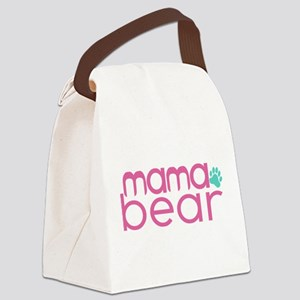 Mama Bear - Family Matching Canvas Lunch Bag