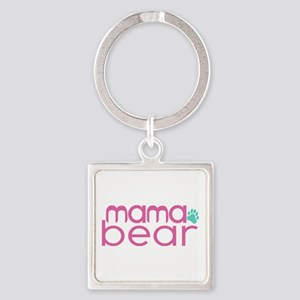 Mama Bear - Family Matching Square Keychain