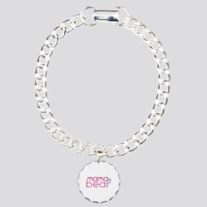 Mama Bear Family Matching Charm Bracelet One Ch