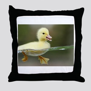 Duckling Throw Pillow