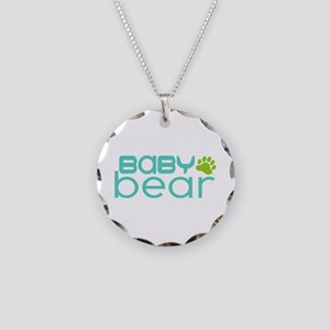Baby Bear - Family Matching Necklace Circle Charm