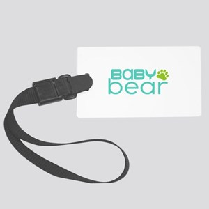 Baby Bear - Family Matching Large Luggage Tag