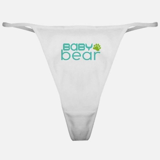 Baby Bear - Family Matching Classic Thong
