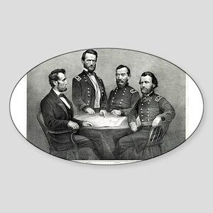President Lincoln at Genl. Grant's headquarters -