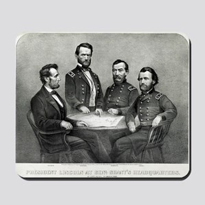 President Lincoln at Genl. Grant's headquarters -