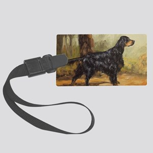 Gordon Setter Large Luggage Tag