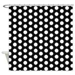 Polka Dots Shower Curtain