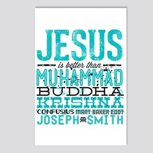 Jesus Is Better Postcards (Package of 8)