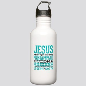 Jesus Is Better Water Bottle