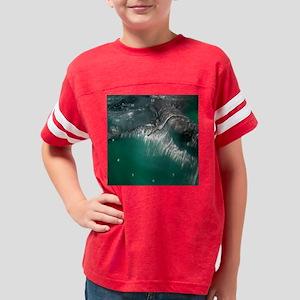 whale_shark_clock Youth Football Shirt