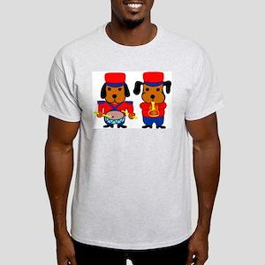 Beagle Musicians Ash Grey T-Shirt