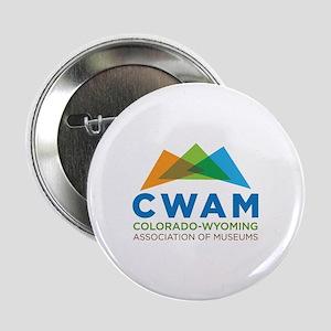 """New CWAM Logo 2.25"""" Button"""