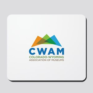 New CWAM Logo Mousepad