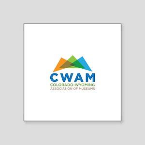 New CWAM Logo Sticker