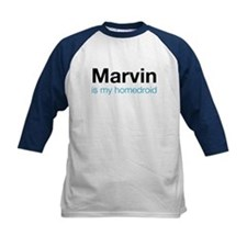 Marvin is my Homedroid Kids Baseball Jersey
