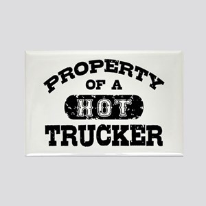 Property of a Hot Trucker Rectangle Magnet
