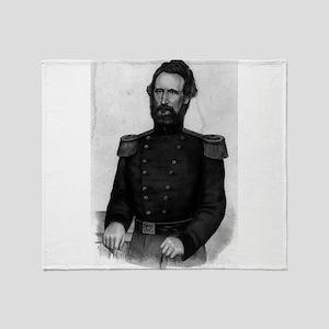 Brig. General Nathl. Lyon - 1861 Throw Blanket