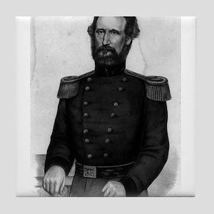 Brig. General Nathl. Lyon - 1861 Tile Coaster