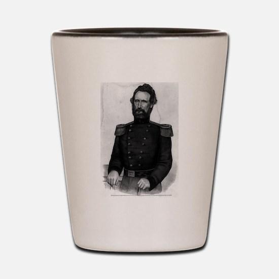 Brig. General Nathl. Lyon - 1861 Shot Glass