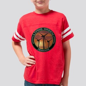 lgWINDDENMARK Youth Football Shirt