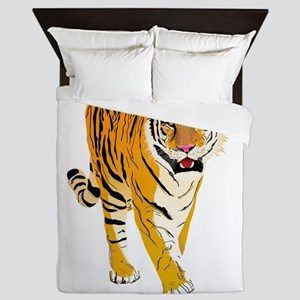 Tiger Queen Duvet