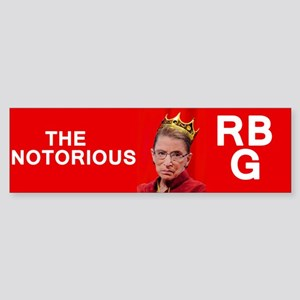 NotoriousRBG Bumper Sticker
