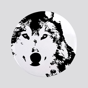 """Wolf 3.5"""" Button"""