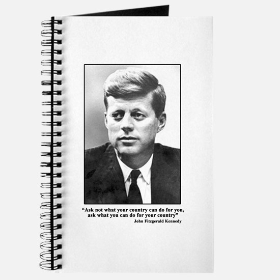 JFK Inaugural Quote Journal