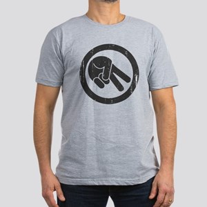 The Wave Men's Fitted T-Shirt (dark)