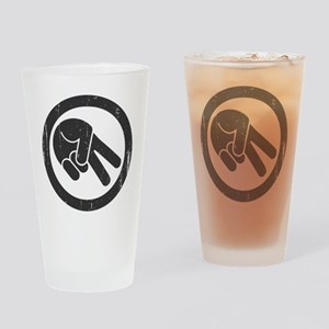 The Wave Drinking Glass