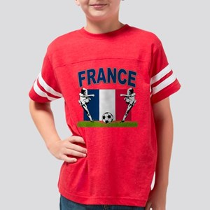 4-france Youth Football Shirt