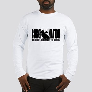 Corgi Nation Logo Long Sleeve T-Shirt