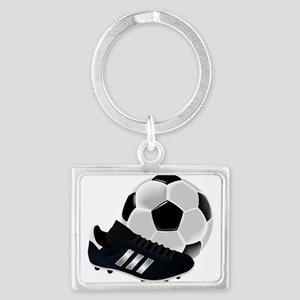 Soccer Ball and Cleats Keychains