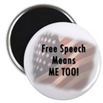 Free Speech Means Me Too 2.25