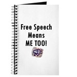Free Speech Means Me Too Journal