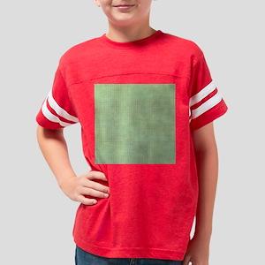 Faded Green Tweed Youth Football Shirt