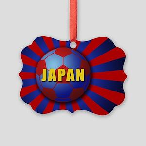 sunrising soccer Picture Ornament