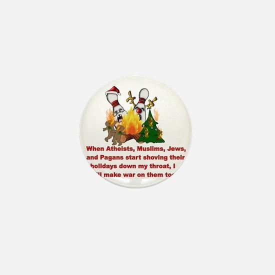 Cute Antireligion Mini Button
