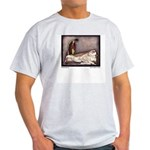 Harbour's Sleeping Beauty Ash Grey T-Shirt