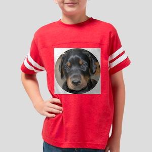 2puppyoval Youth Football Shirt