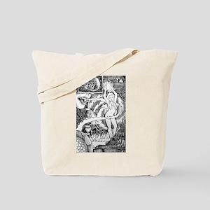 Fire Elemental Tote Bag