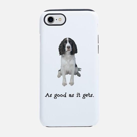 Good Springer Spaniel iPhone 7 Tough Case