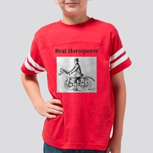 RealHorsepower2 Youth Football Shirt