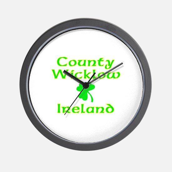 County Wicklow, Ireland Wall Clock