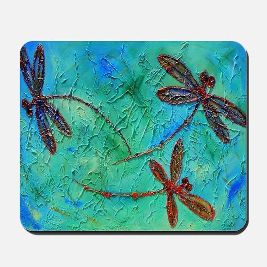 Dragonfly Dance Mousepad