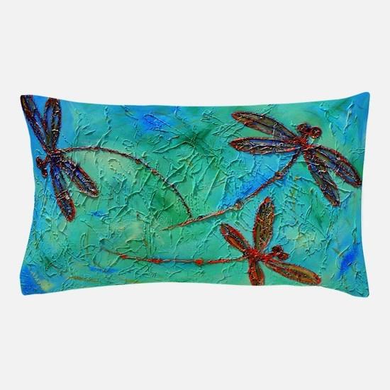 Dragonfly Dance Pillow Case
