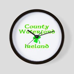 County Waterford, Ireland Wall Clock